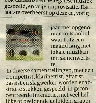Volkskrant (the Netherlands, 2011)